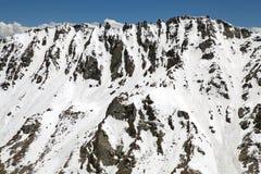 Mountain peak at the Khardung Pass, Ladakh, India. Mountain peak at the Khardung Pass in Ladakh, India. The Khardung Pass is the higest vehicle accessible pass Royalty Free Stock Photos