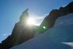 Mountain peak Royalty Free Stock Photography
