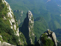 Mountain peak. Of lushan at jiangxi province in china Stock Photography