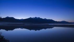 Mountain peak in New Zealand Stock Photos