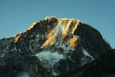 Mountain peak Ranrapalka Stock Image
