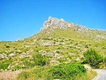 Mountain peak, summertime Stock Photo