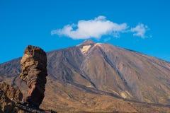 Mountain peak, Tenerife - Pico del Teide. Mountain peak, Tenerife , Pico del Teide Royalty Free Stock Photos