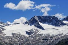 Mountain peak in Tirol Stock Photo