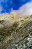 On mountain peak Stock Image