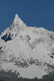 Mountain Peak With Snow Stock Image