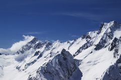 Mountain Peaks Royalty Free Stock Photography