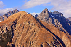 Mountain peaks Royalty Free Stock Photo