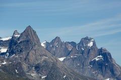 Mountain peaks Stock Image