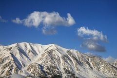 Mountain peaks. Stock Image