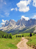 Mountain peaks in Alps Royalty Free Stock Photo