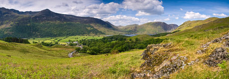 Mountain Peaks, Cumbria Stock Photography