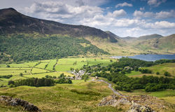 Mountain Peaks, Cumbria Stock Photo
