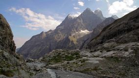 Mountain peaks in French Alps, Ecrins