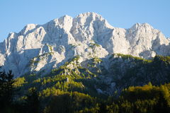 Mountain Peaks in the Gesäuse National Park, Styria Stock Photography