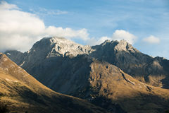 Mountain peaks at high altitude Royalty Free Stock Photography