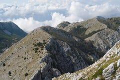 Mountain peaks of Montenegro Royalty Free Stock Photo
