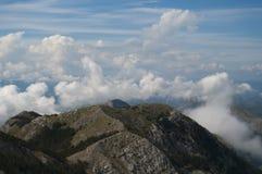 Mountain peaks of Montenegro Stock Images