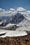 Mountain peaks in Pamir Stock Photography