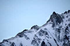 Mountain Peaks at Pyrenees Stock Images