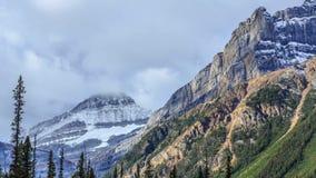 Mountain peaks stock video