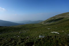 Mountain peaks, skyline landscape Royalty Free Stock Photography