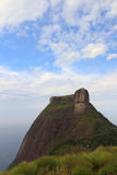 Mountain Pedra da Gávea, Rio de Janeiro, vertical Royalty Free Stock Images