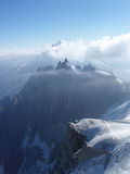 Mountain peek. Photo of a mountain peek in Mont Blanc Stock Image