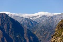 Mountain perspective Royalty Free Stock Photos