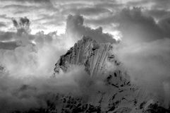 Mountain in Peru Royalty Free Stock Images