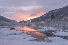 Mountain Photo and Snow Royalty Free Stock Photo