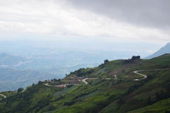 Mountain Phu Thap Boek is the name of Hmong village in Thailand Royalty Free Stock Photography