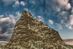 Mountain pick Royalty Free Stock Photo