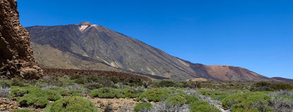 Mountain Pico del Teide Royalty Free Stock Photos