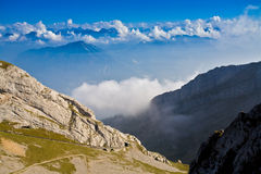 Mountain Pilatus in Switzerland Stock Photography