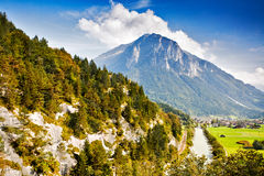 Mountain Pilatus in Switzerland Stock Image