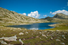 Mountain Pirin Tevno Lake Landscape Royalty Free Stock Image