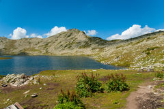 Mountain Pirin Tevno Lake Landscape Royalty Free Stock Photography