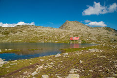Mountain Pirin Tevno Lake Landscape Stock Images