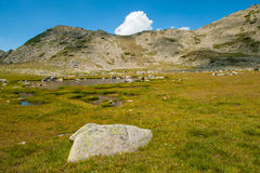 Mountain Pirin Tevno Lake Landscape Royalty Free Stock Images