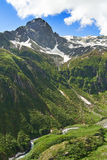 Mountain Pizzo Andolla in the Alps Royalty Free Stock Images