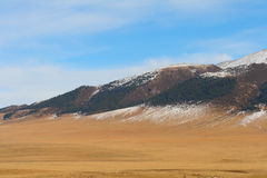 Mountain plain Stock Photos