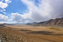 Mountain plains Royalty Free Stock Image
