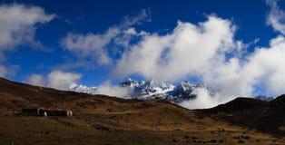 The mountain plateau Stock Photos
