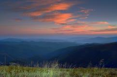 mountain plateau Stock Image