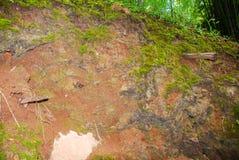 The mountain plateau in Kanchanaburi , thailand royalty free stock image