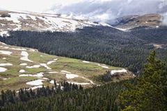 Mountain plateau Lago-Naki Stock Photos