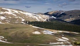 Mountain plateau Lago-Naki Stock Photography