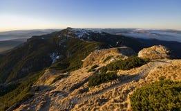 Mountain plateau landscape Stock Photos