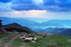 Mountain plateau landscape Stock Image